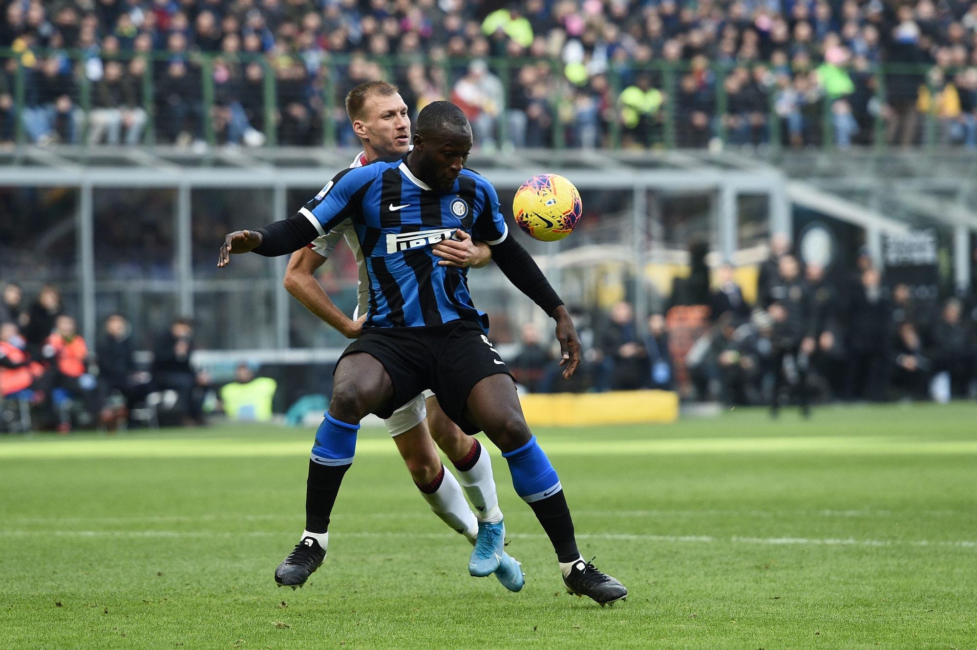 Belgium 4 Denmark 2 - King Power, Leuven Inter-Milan striker Romelu Lukaku