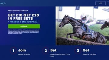 Free Bet if 2nd to SP Fav at Fairyhouse